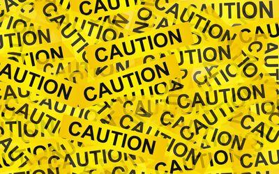 Caution wallpaper