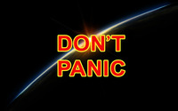 Don't panic [2] wallpaper 2560x1600 jpg