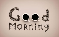 Good morning wallpaper 1920x1200 jpg