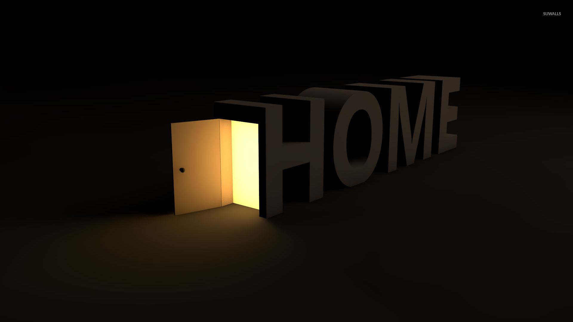 Home door wallpaper typography wallpapers 18383 for Wallpaper for home entrance