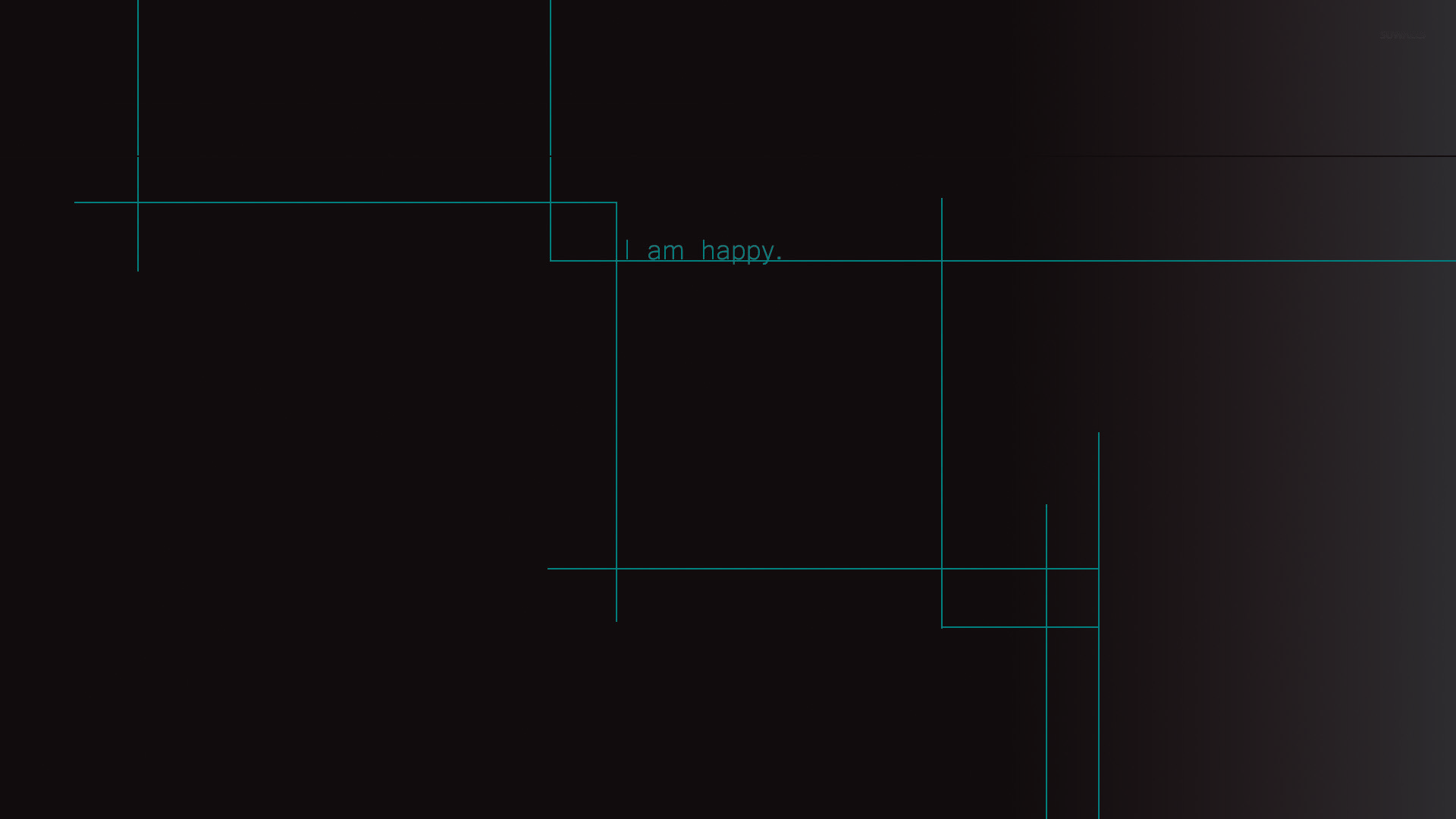 I am happy wallpaper - Typography wallpapers - #27504