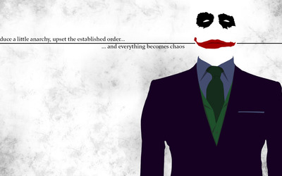 Introduce anarchy - The Joker wallpaper