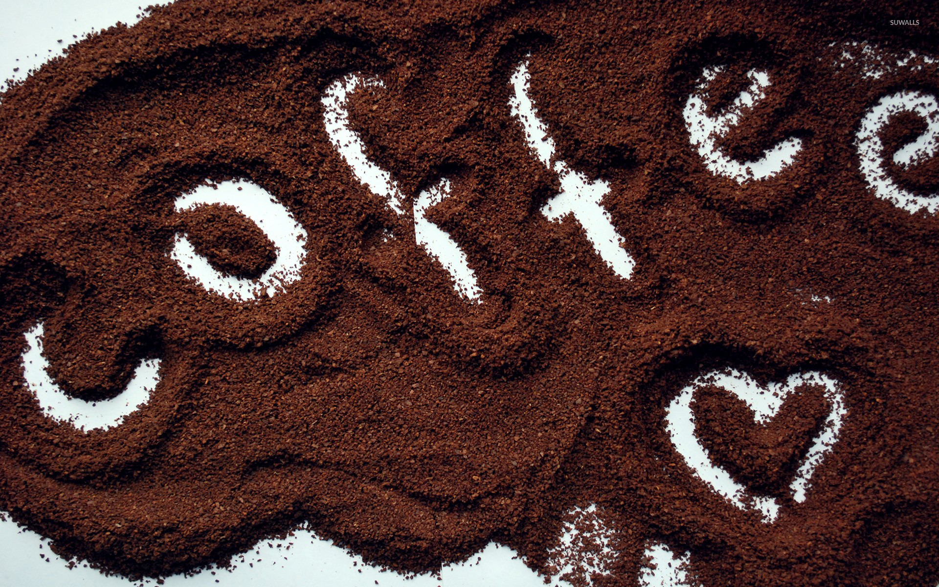 Love For Coffee Wallpaper Typography Wallpapers 23466