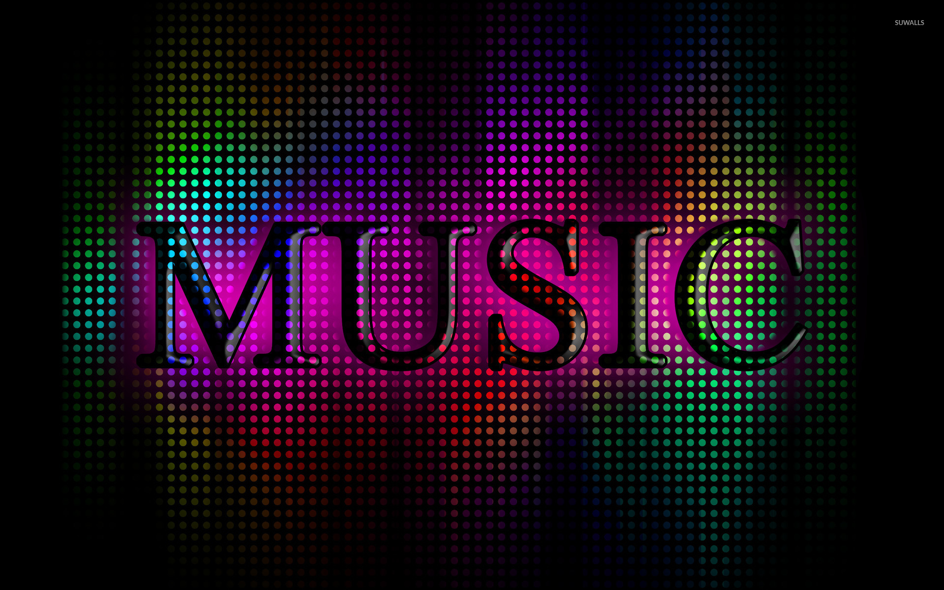 10 Most Popular 3d Colorful Music Notes Wallpaper Full Hd: Typography Wallpapers