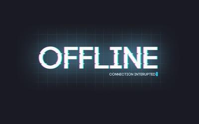 Offline wallpaper