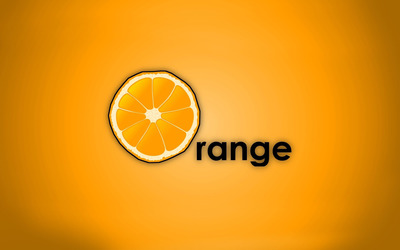 Orange [2] wallpaper