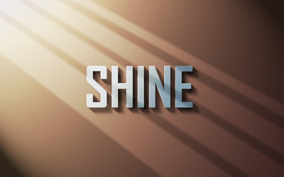 Shine wallpaper