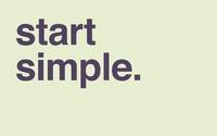 Start simple wallpaper 2560x1600 jpg