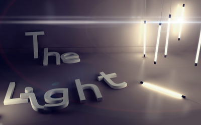 The light wallpaper