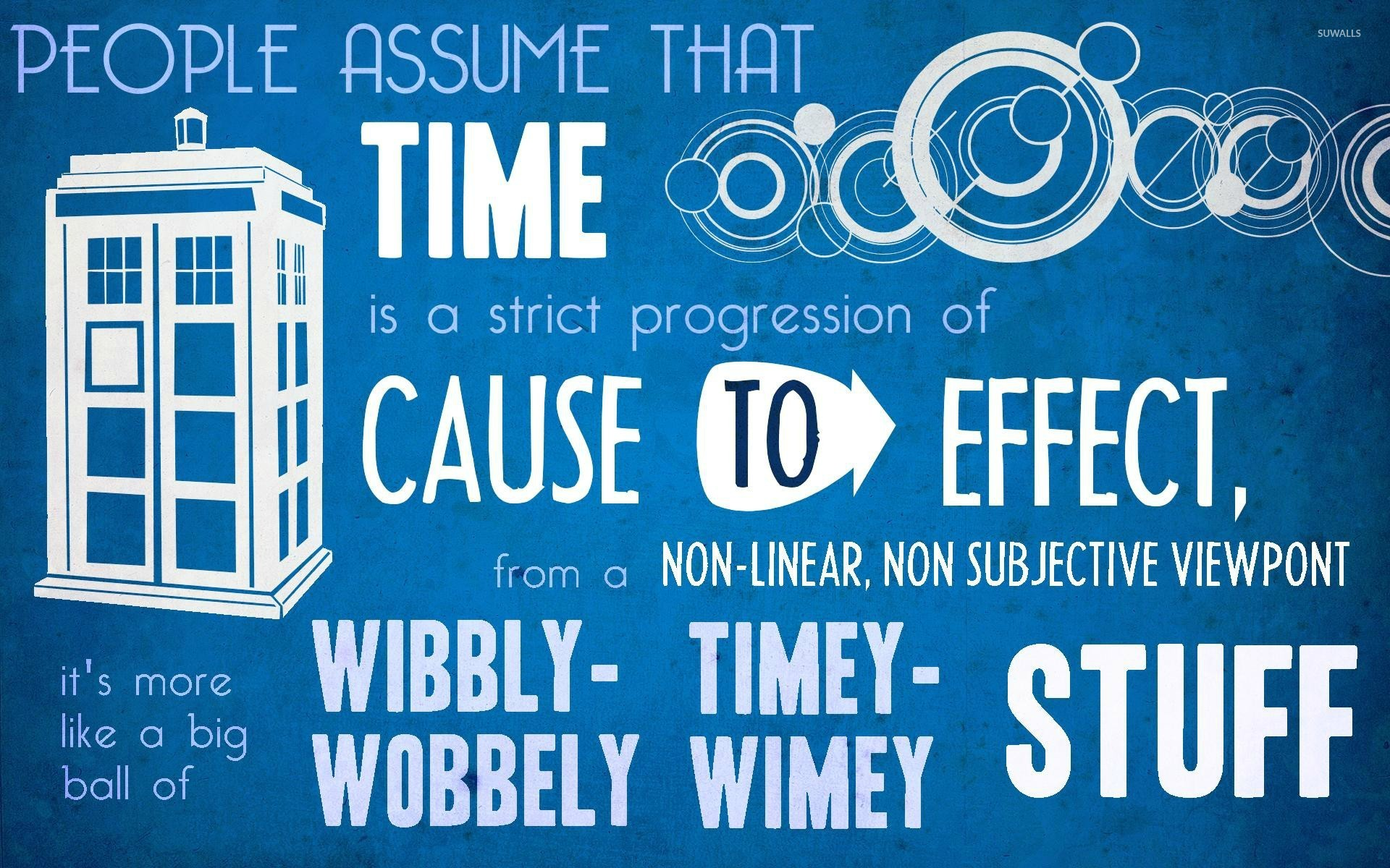 Time and Doctor Who wallpaper Typography wallpapers 27580