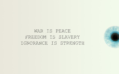War is peace... wallpaper
