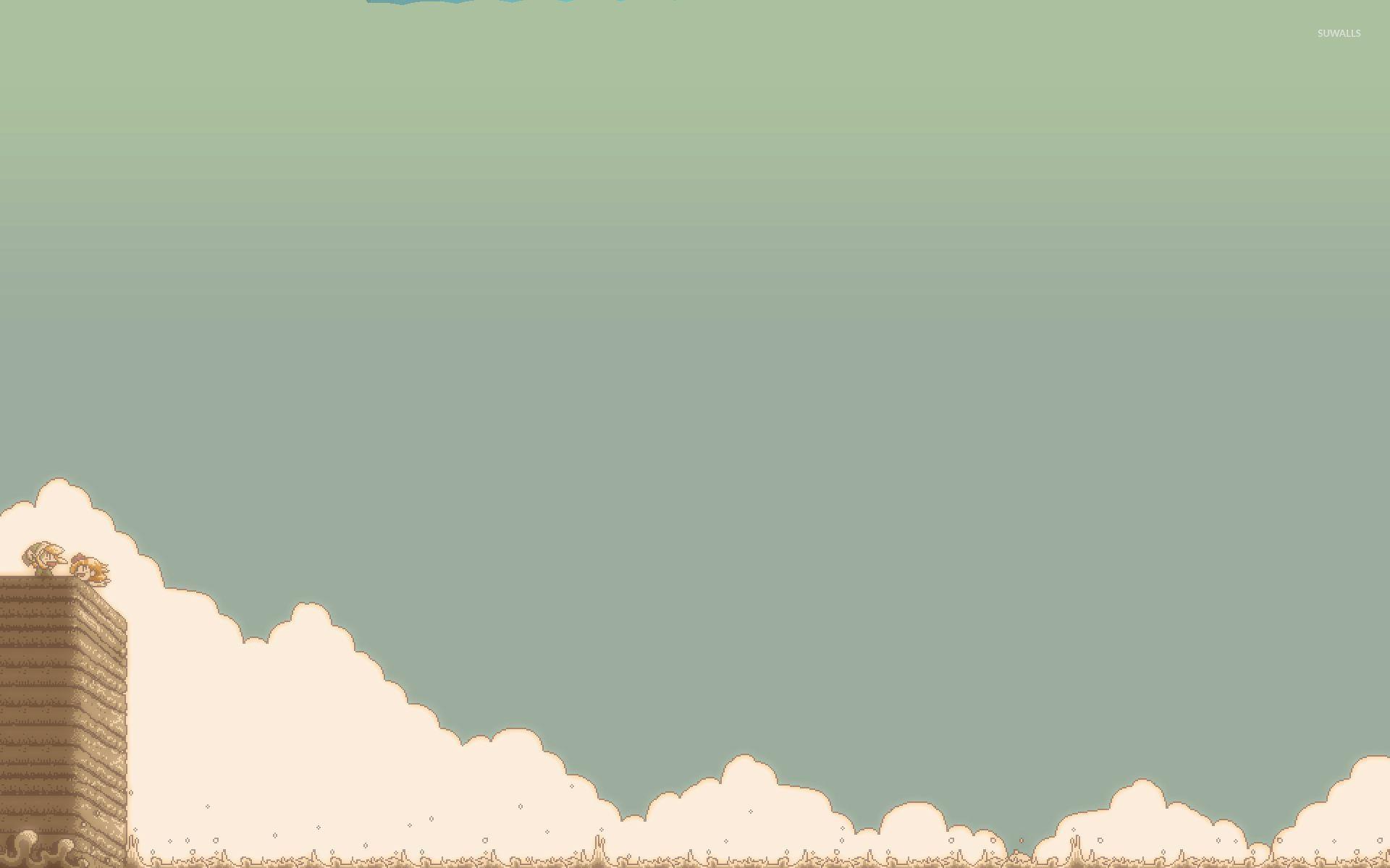 8 Bit Zelda Wallpaper