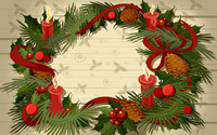 Advent wreath wallpaper 1920x1200 jpg