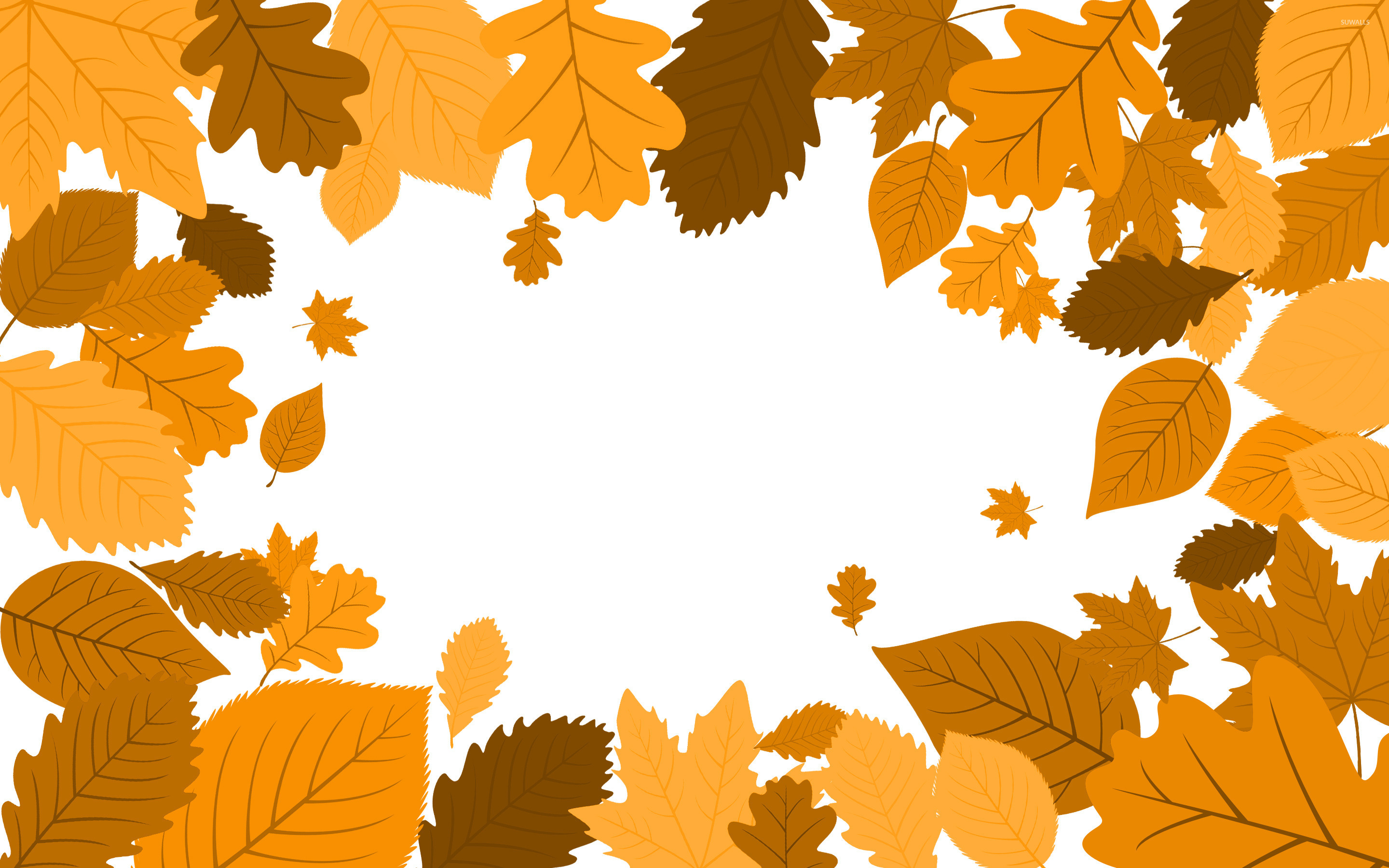 Autumn leaves [15] wallpaper Vector wallpapers