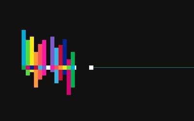 Block spectrum wallpaper