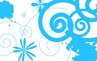 Blue swirls [2] wallpaper 1920x1080 jpg
