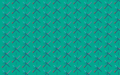 Bluish pattern wallpaper
