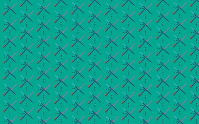 Bluish pattern wallpaper