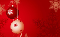 Christmas balls wallpaper 1920x1200 jpg