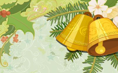 Christmas bells [2] wallpaper