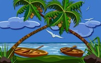 Coconut trees [2] wallpaper 1920x1200 jpg