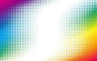 Colorful halftone dots wallpaper 1920x1200 jpg