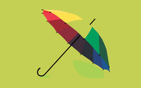 Colorful umbrella wallpaper 2560x1600 jpg