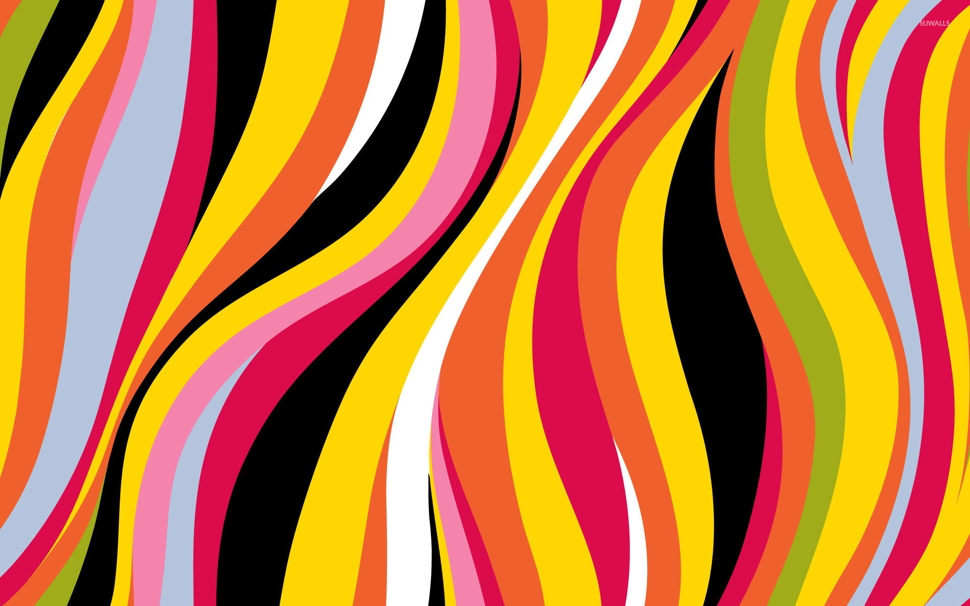 colorful waves 5 wallpaper vector wallpapers 18629