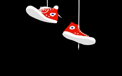 Converse sneakers wallpaper