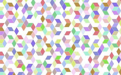 Cubes [25] wallpaper