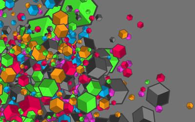 Cubes [20] wallpaper