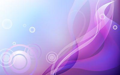 Curves and circles wallpaper