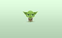 Cute funny Yoda wallpaper 1920x1200 jpg