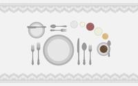 Dining table wallpaper 2560x1600 jpg
