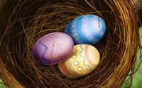 Easter eggs [13] wallpaper 1920x1080 jpg