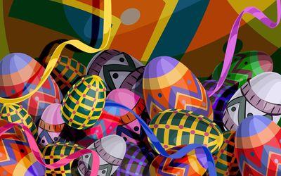 Easter eggs [10] wallpaper
