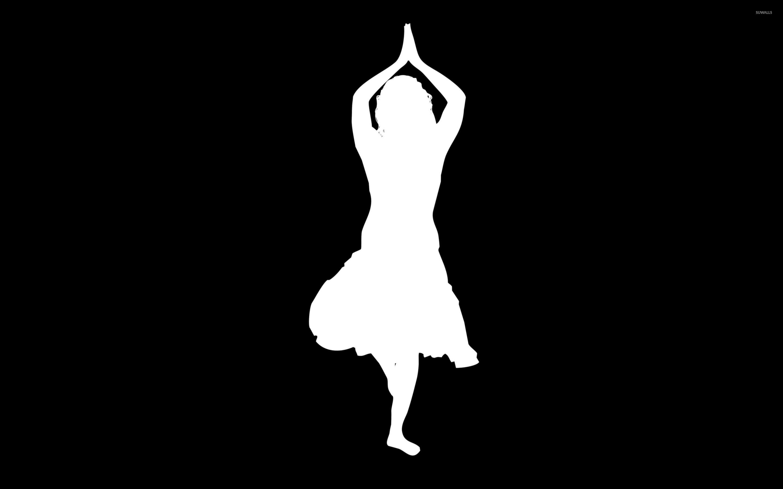 exotic dancer silhouette wallpaper vector wallpapers