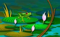Frog [3] wallpaper 1920x1200 jpg