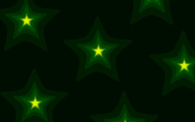 Glowing green stars [2] wallpaper