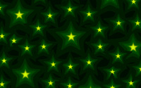 Glowing green stars wallpaper 2880x1800 jpg