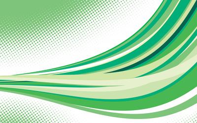 Green curves [5] wallpaper