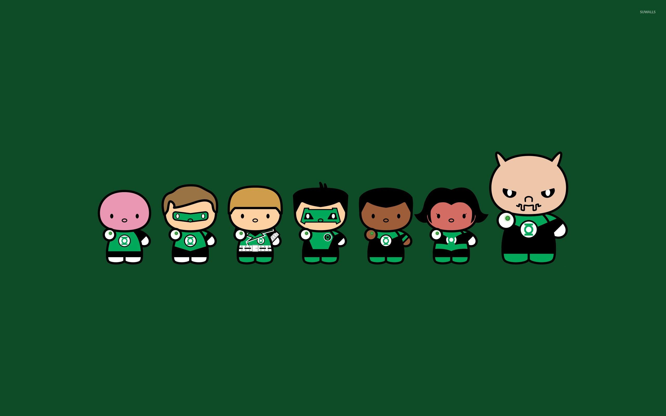 Green Lantern [5] wallpaper