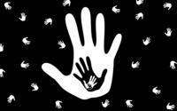 Handprints wallpaper 2880x1800 jpg