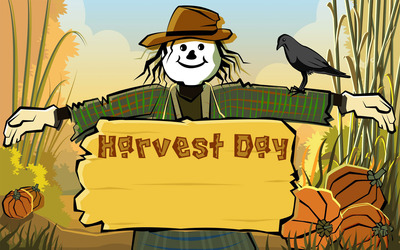 Harvest day wallpaper