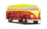 Hippie Volkswagen bus wallpaper 1920x1200 jpg