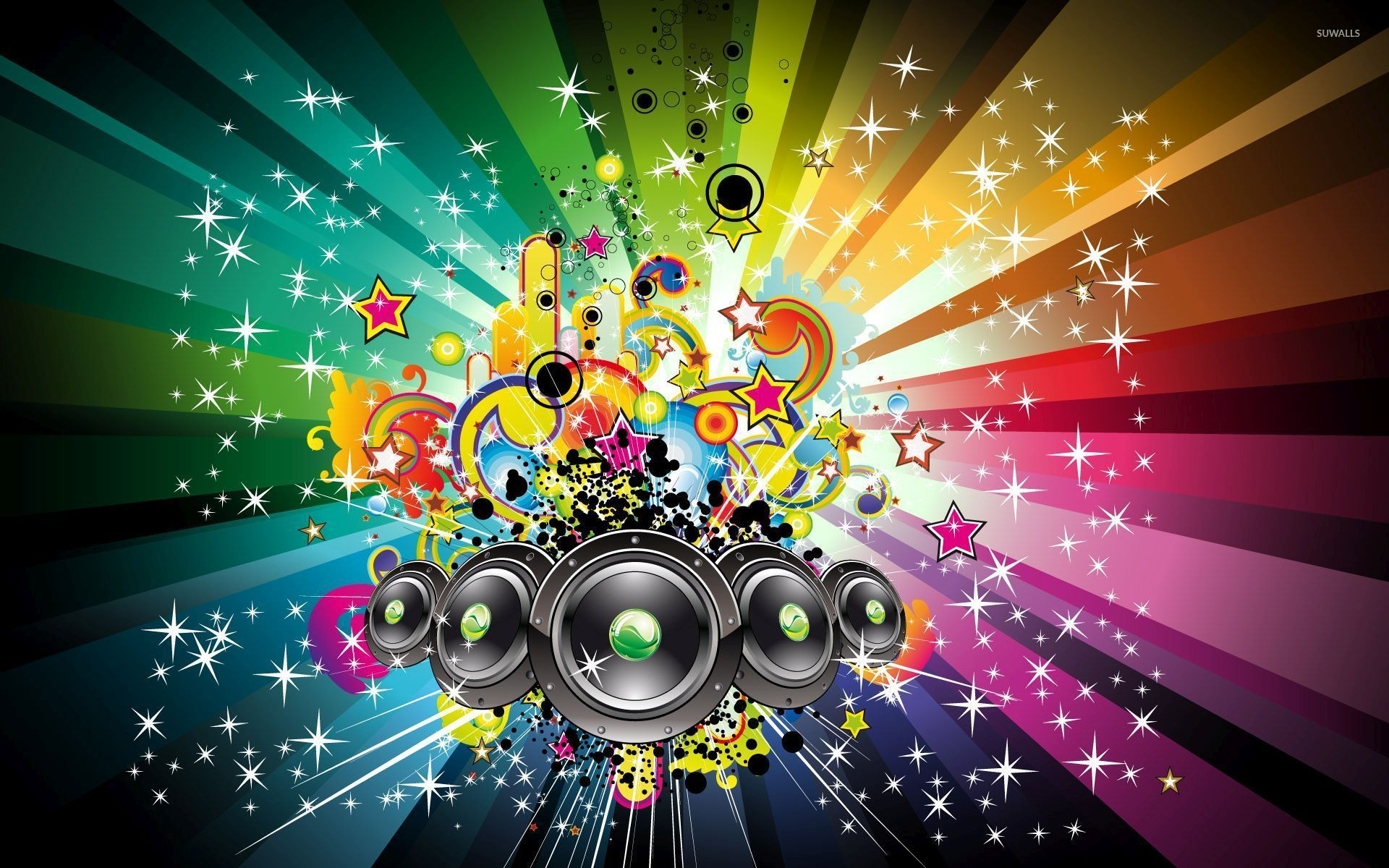 Magic Of The Music Wallpaper Vector Wallpapers 52443