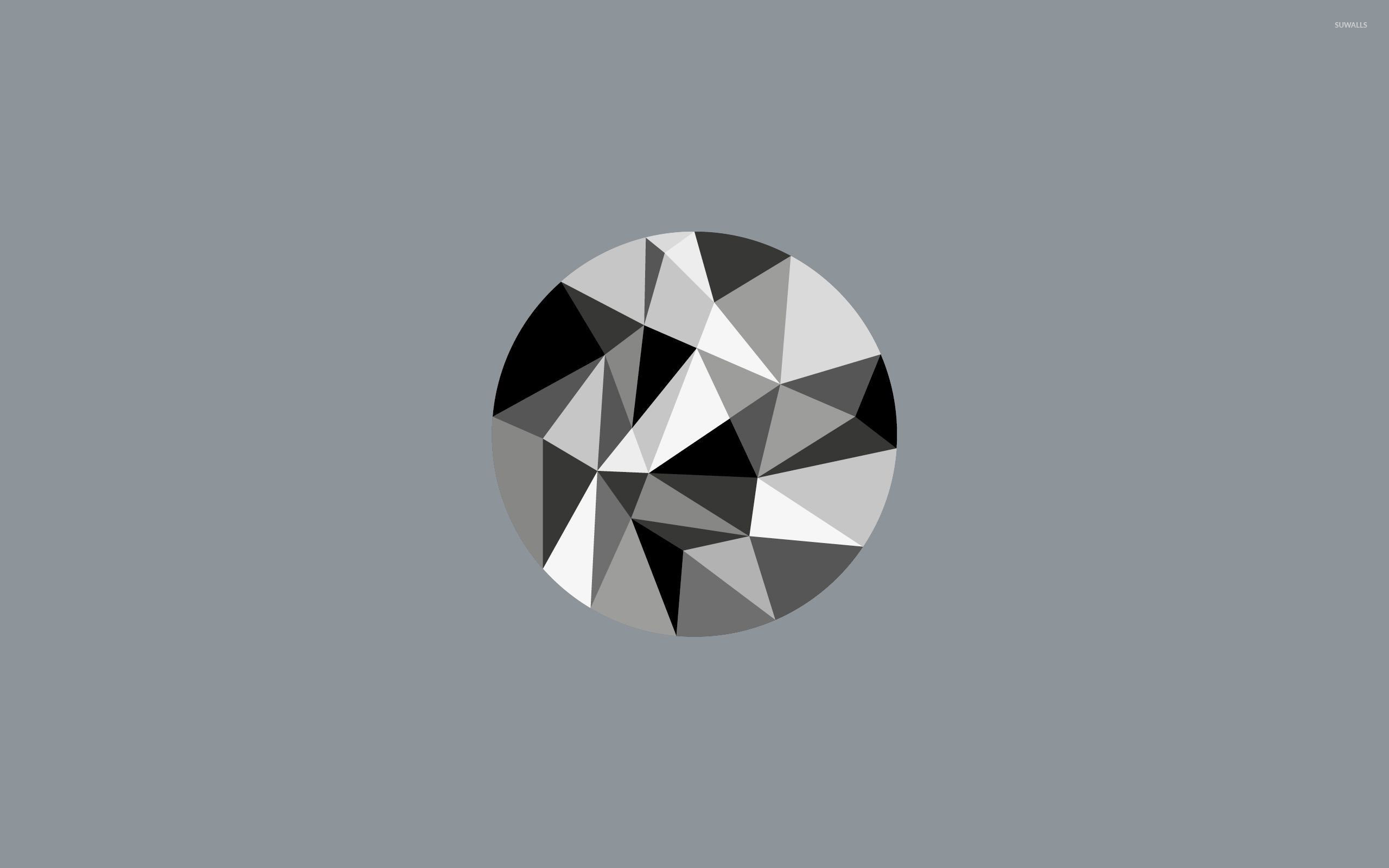 diamond vector illustration stock polygon photo image abstract
