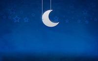 Moon and stars [2] wallpaper 2560x1600 jpg