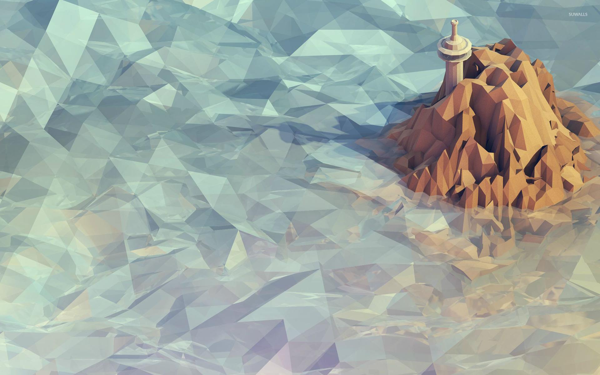 polygon mountain wallpaper - photo #25