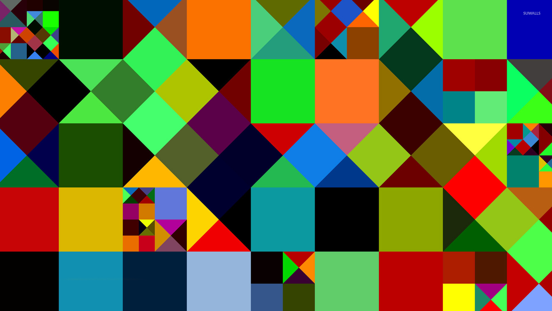 графика абстракция квадраты в хорошем качестве